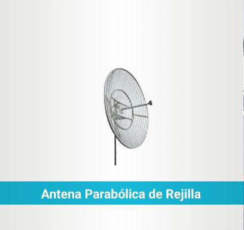 Antena parabólica de rejilla
