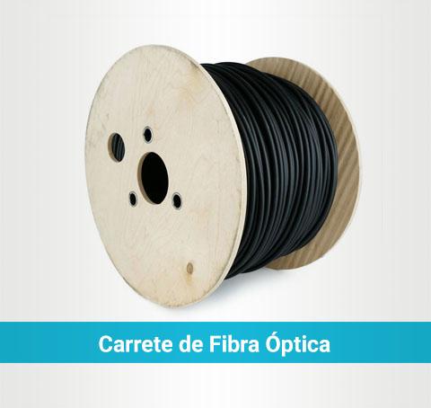 Carrete de fibra óptical