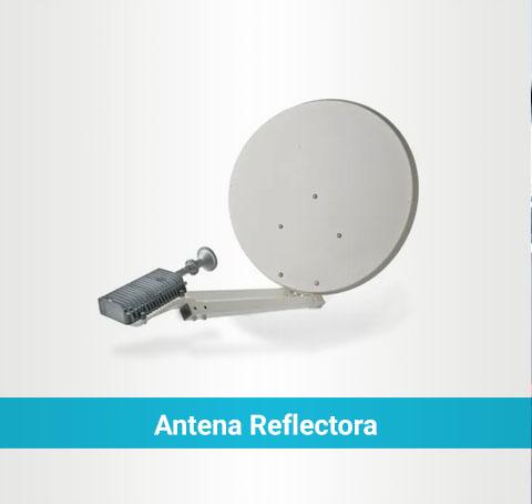 Antena reflectora