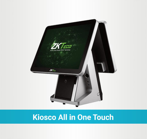 Kiosco all in one touch