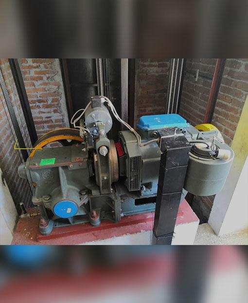 Motor de elevador